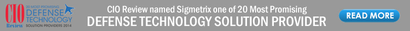 CIOReview Names Sigmetrix As 20 Most Promising Defense Technology Solution Providers