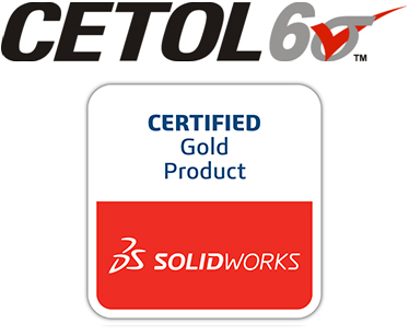 CETOL 6 Sigma - SOLIDWORKS Certified Gold Partner Product