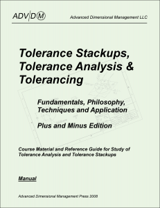 Tolerance Stackup, Tolerance Analysis and Tolerancing Manual: Plus and Minus Edition
