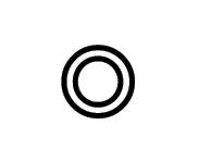Concentricidad del símbolo GDT de Sigmetrix