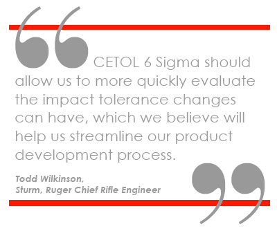 Sturm, Ruger & Co., Inc. selects CETOL 6 Sigma as Tolerance Analysis Solution