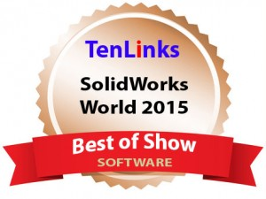 CETOL 6 Sigma Wins Best of Show at SOLIDWORKS World 2015