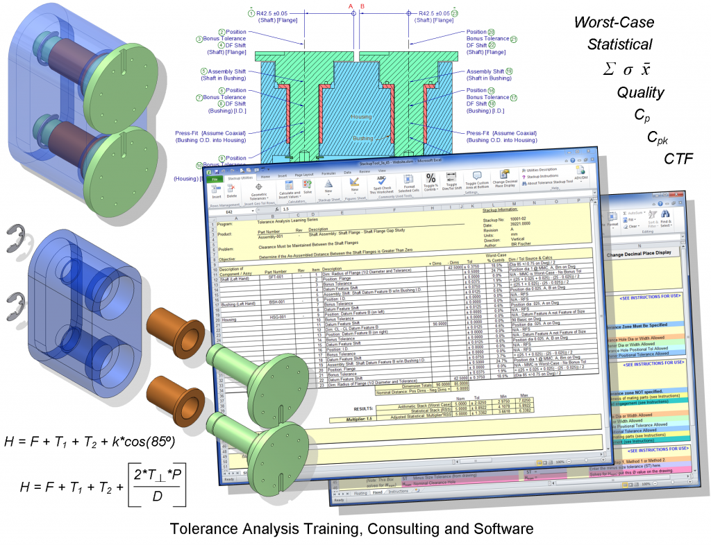 Tolerance Analysis Training, Consulting and Software